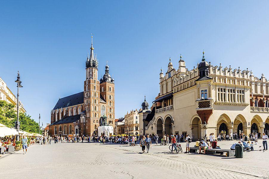 Polen – Mit dem Reisebus oder Flug nach Krakau