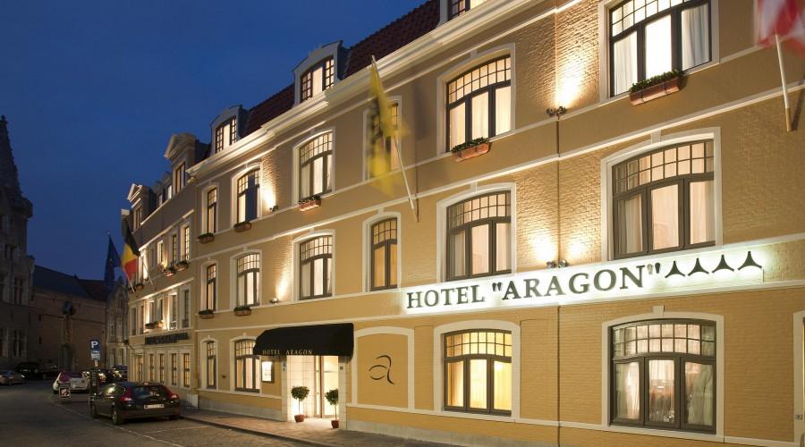 Außenansicht Hotel Aragon