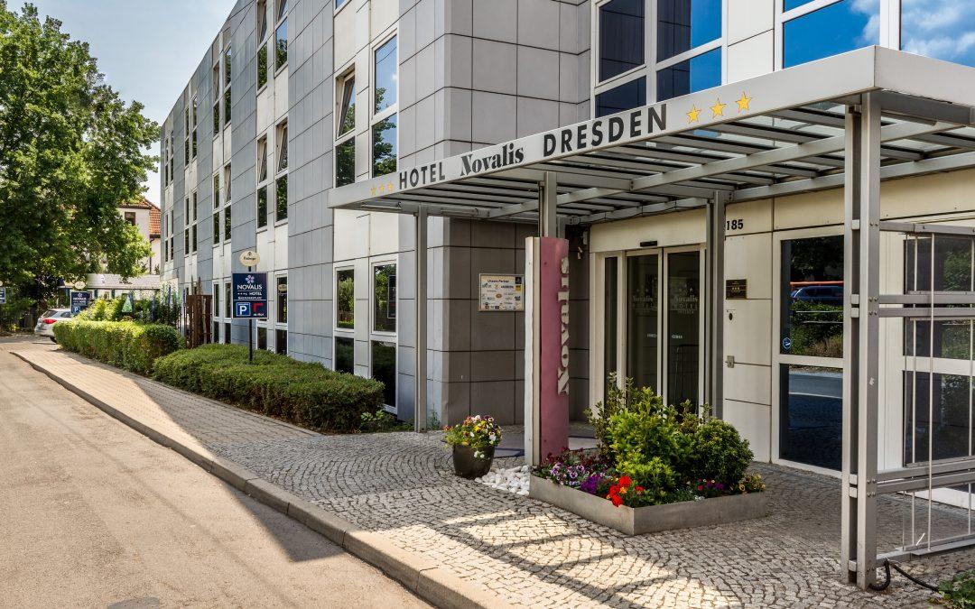 Außenansicht Hotel Novalis Dresden
