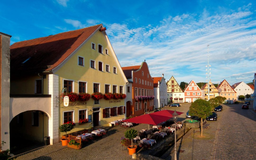 Außenansicht Hotel Dallmayr