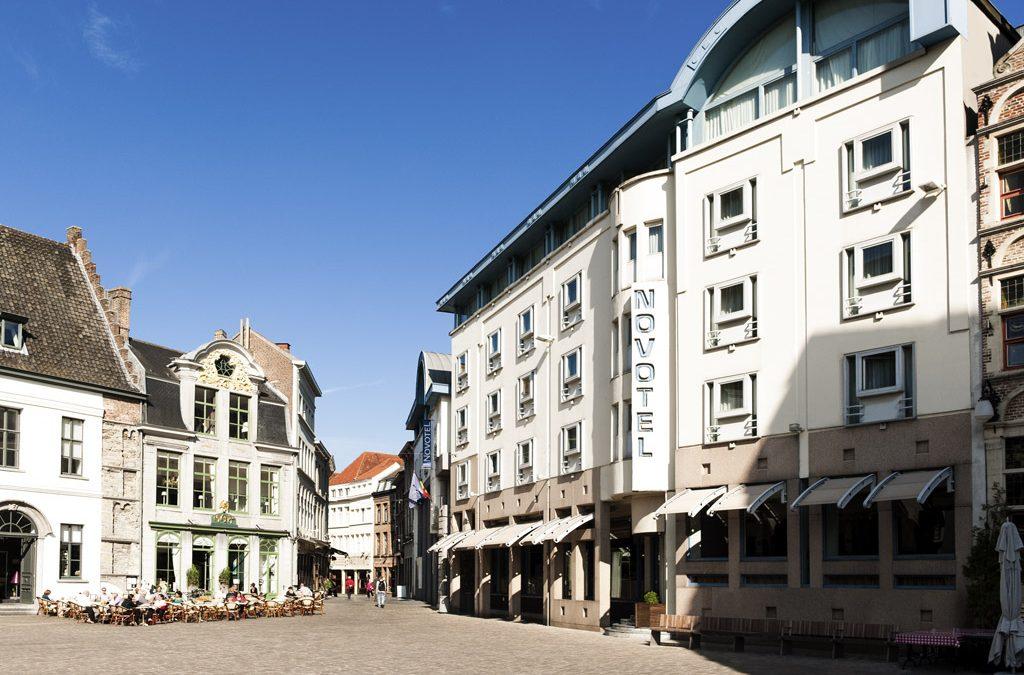 Außenansicht Novotel Gent Centrum