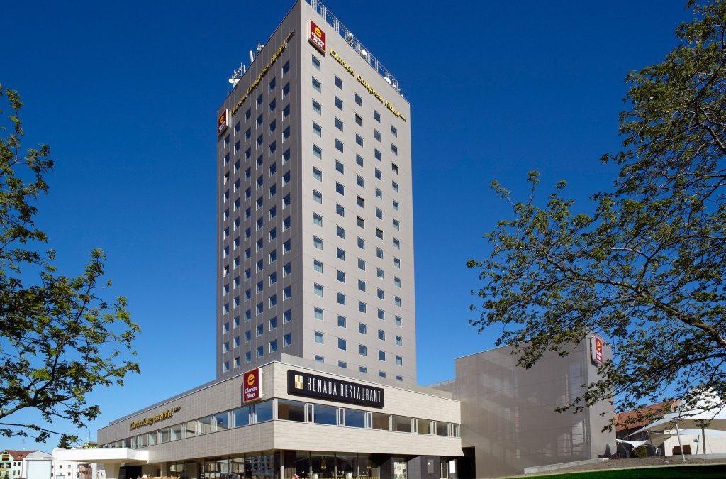 Außenansicht Hotel Clarion Congress Budejovice