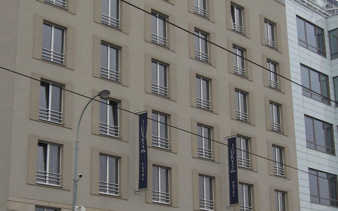 Außenansicht Hotel Jurys Inn