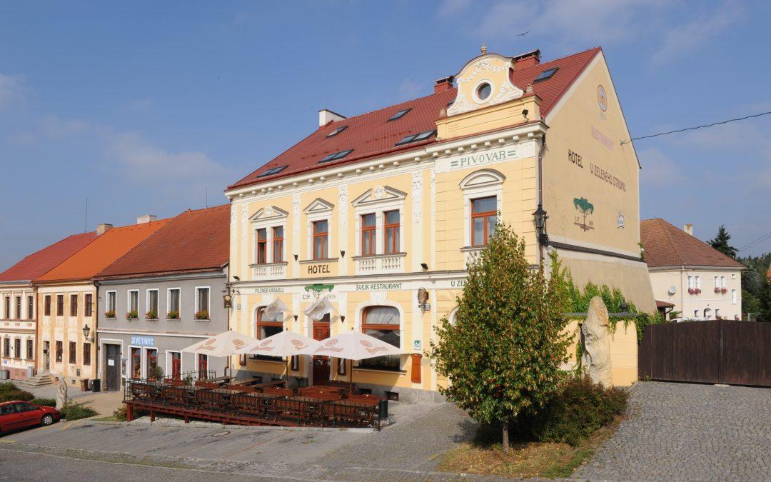 Außenansicht Hotel in Nepomuk