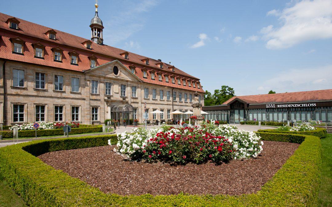 Außenansicht Hotel Residenzschloss Bamberg