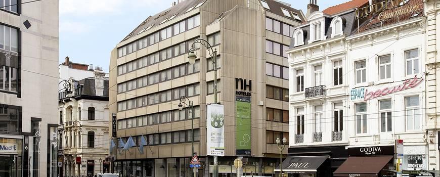 Außenansicht Hotel NH Louise Brüssel