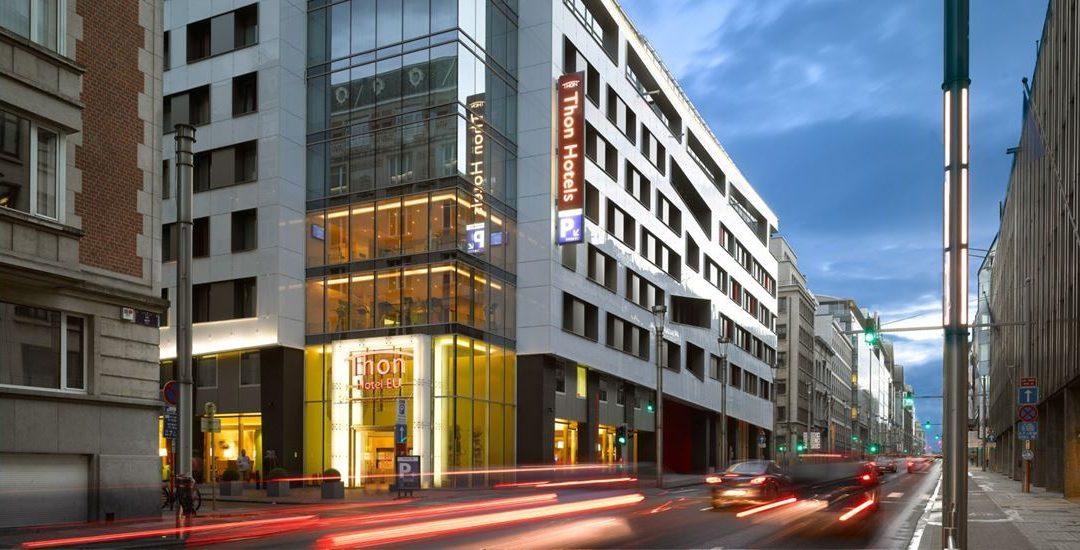Außenansicht Hotel Thon EU Brüssel