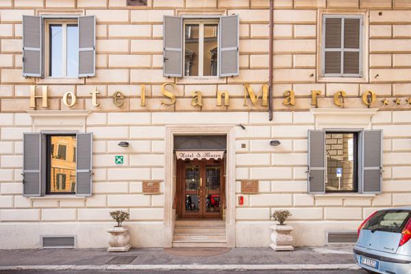 Außenansicht Hotel San Marco