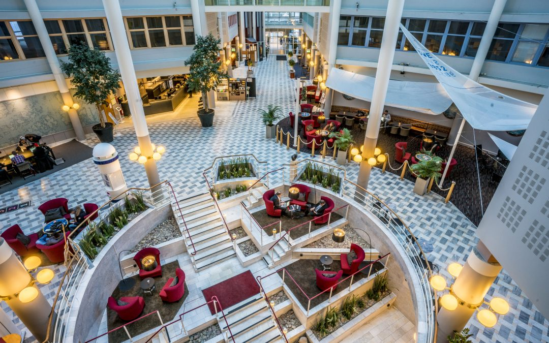 Lobby Scandic Hotel Ariadne