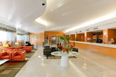 Lobby Hotel Roma