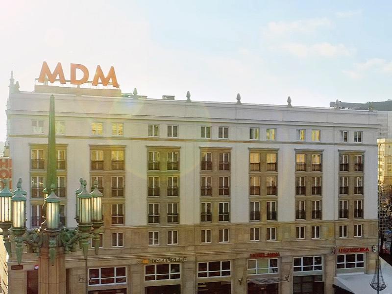 Außenansicht Hotel MDM