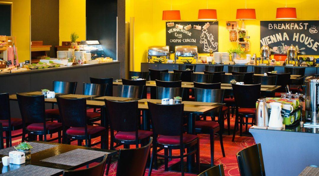Frühstücksraum Hotel Vienna House Easy