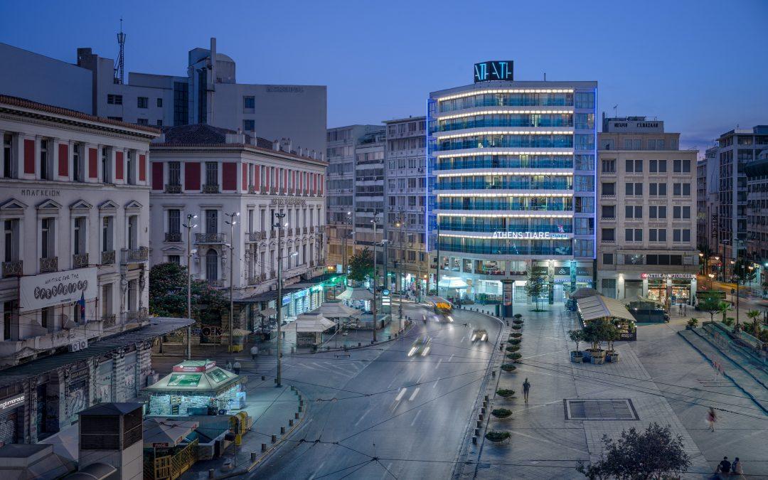 Außenansicht Athens Tiare Hotel