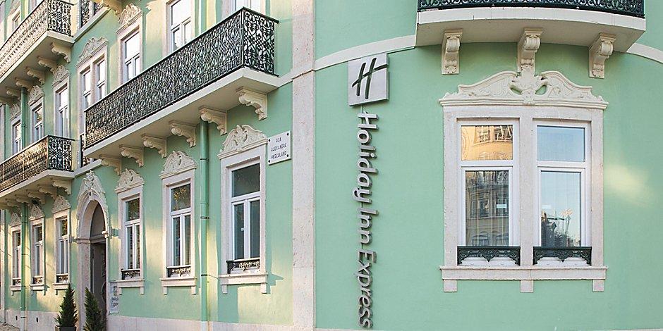 Außenansicht Holiday Inn Express Lissabon