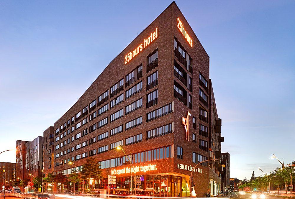 Außenansicht 25hours Hotel HafenCity